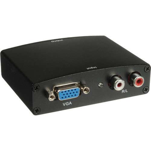 Comprehensive VGA & Audio to HDMI Converter