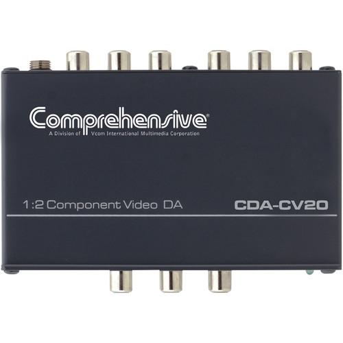 Comprehensive CDA-CV20 1x2 Component Video Distribution Amplifier