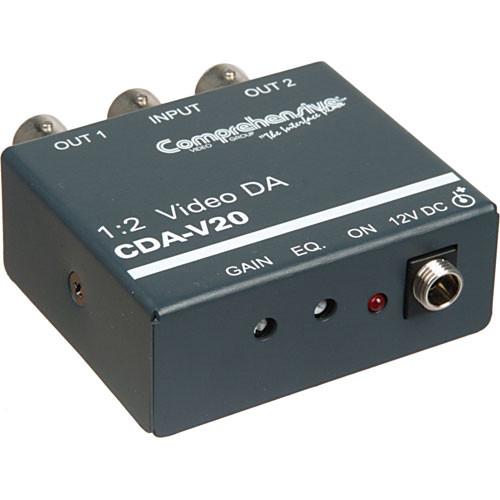 Comprehensive CDA-V20 1x2 Composite Video Distribution Amplifier