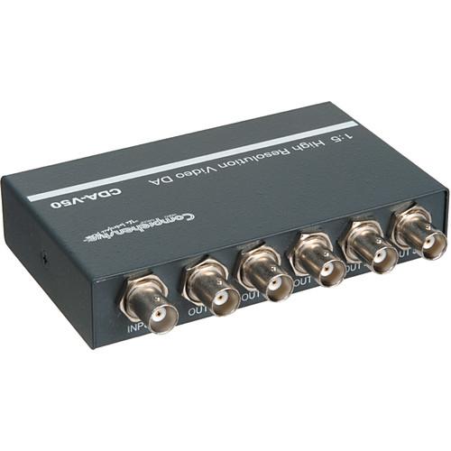 Comprehensive CDA-V50 1x5 Composite Video Distribution Amplifier