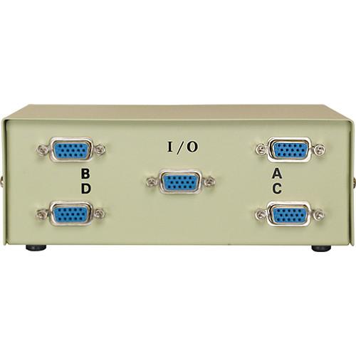 Comprehensive CSWM-HD151X4 HD15 Switch Box