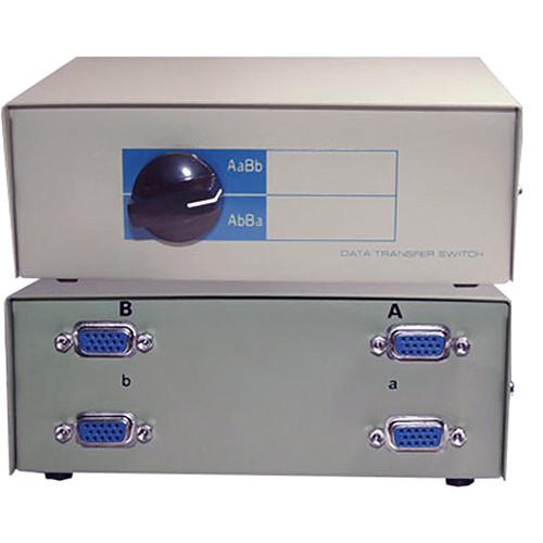 Comprehensive CSWM-HD152X2 HD15 2-Way Switch Box