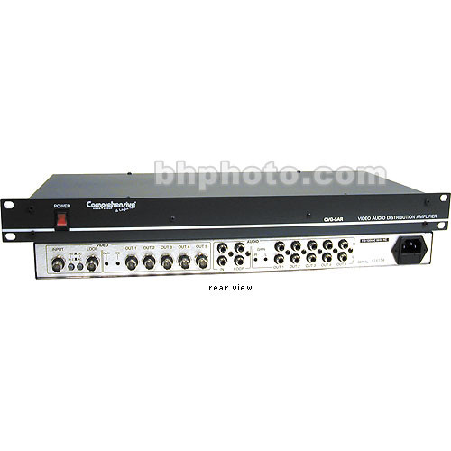 Comprehensive CVG-5ARII A/V Distribution Amplifier