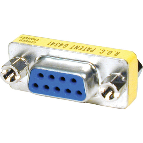 Comprehensive DB9J-J 9-Pin RS-422 Female to Female Adapter