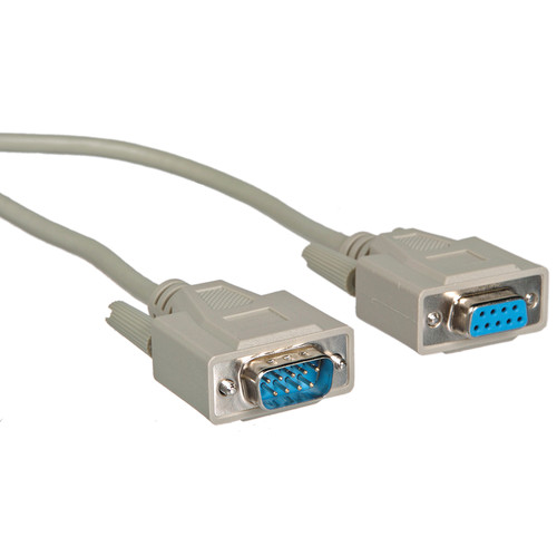 Comprehensive RS-232 9-Pin Male to 9-Pin Female Cable - 25'