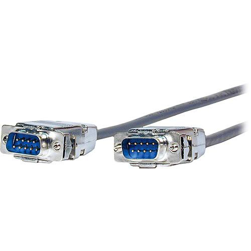 Comprehensive DB9P-DB9P-35HRP  DB9 RS-232 Male to Male Plenum Cable - 35'