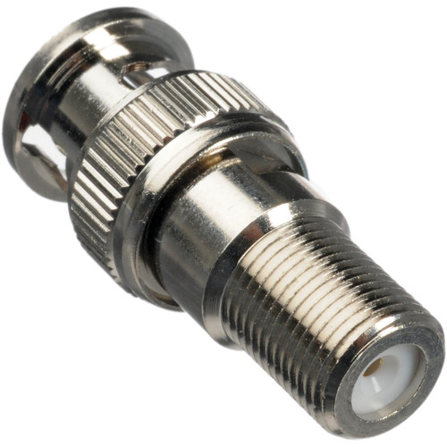 Comprehensive FJ-BP F-Jack to BNC plug coaxial adapter