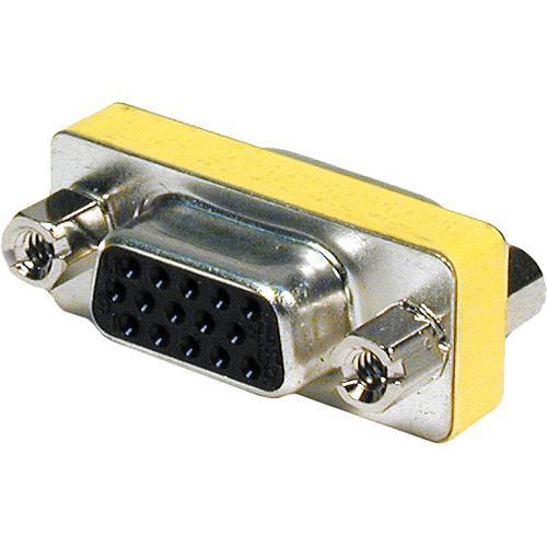 Comprehensive HD15J-J Female VGA to Female VGA Adapter