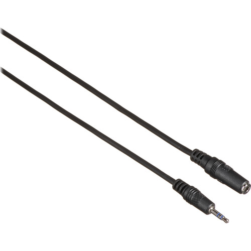 Comprehensive Stereo Mini (3.5mm) Male to Stereo Mini Female Cable (6')
