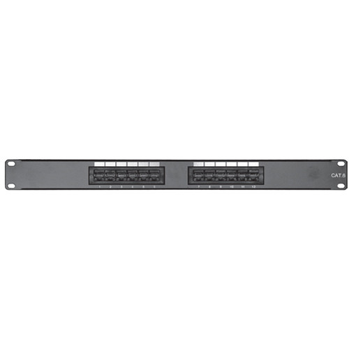 Comprehensive PP12P6 12-Port CAT-6 Patch Panel