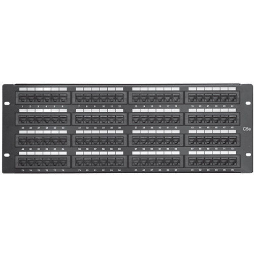 Comprehensive PP96P5E 96-Port CAT-5E Patch Panel
