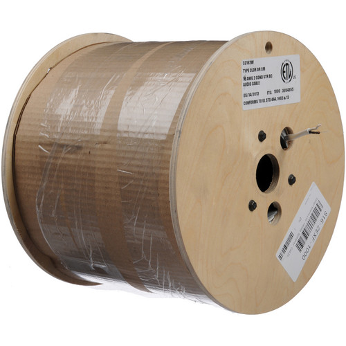 Comprehensive EXF Premium Oxygen Free Copper Speaker Bulk Cable (16 Gauge) - 1000'