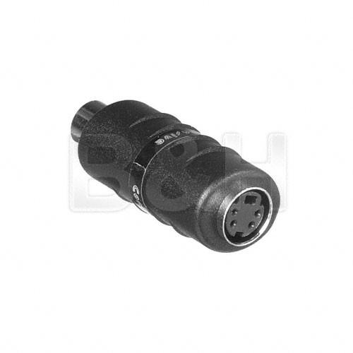 Comprehensive S4J-PJ Female S-Video to Female RCA Adapter