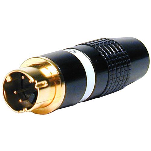 Comprehensive S4PG 4-Pin S-Video Gold Plug