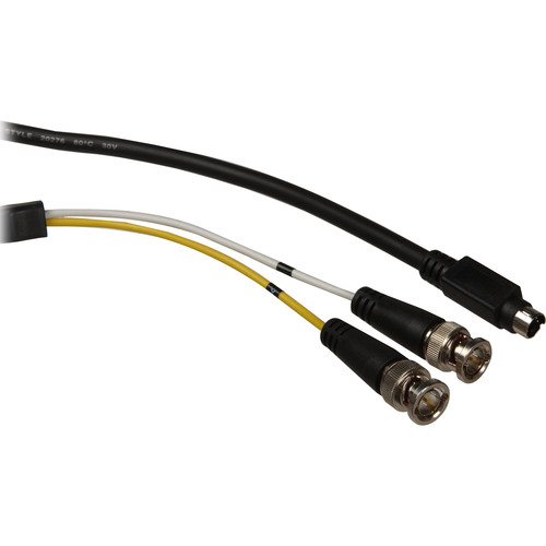 Comprehensive HR Series S-Video to 2 BNC Y-Cable (6')