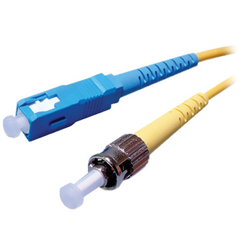 Comprehensive 6.56' (2 m) ST to ST Multimode 0.009' (3mm) Duplex LSZH Cable