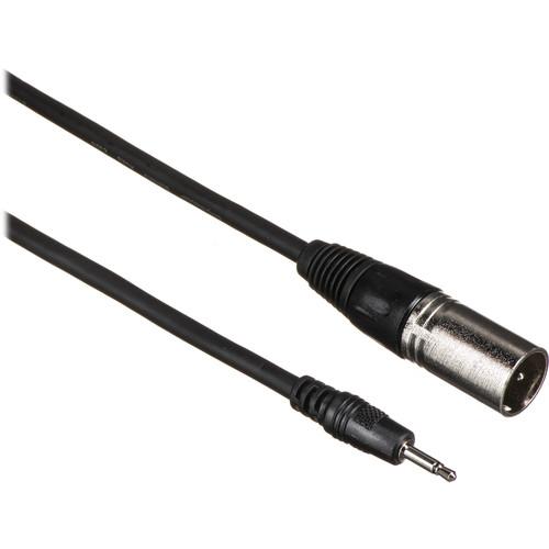 Comprehensive Mini Male to 3-Pin XLR Male Cable - 10'