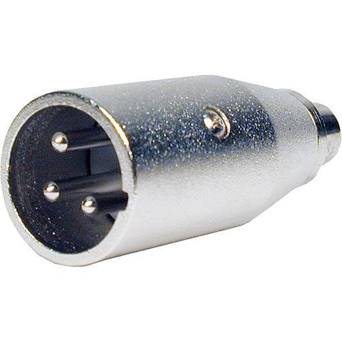 Comprehensive XLRP-PJ Female RCA to Male XLR Adapter
