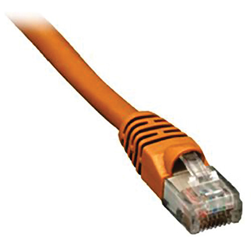 Comprehensive CAT5e 350 MHz Crossover Cable (50', Orange)
