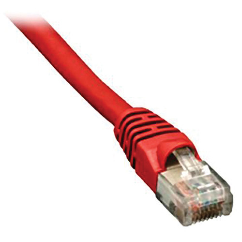 Comprehensive CAT5e 350 MHz Crossover Cable (7', Red)