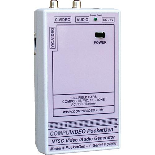 Compuvideo PG-1 PocketGen 1 Full Field Color Bar Generator