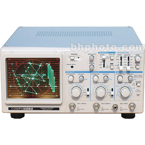 Compuvideo SVR-1100CBAP PAL Dual Channel Waveform and Vectorscope