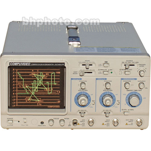Compuvideo SVR-1100SDIPA Waveform and Vectorscope, SDI, PAL