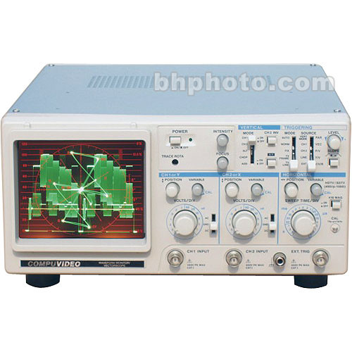 Compuvideo SVR-1100SDI Waveform and Vectorscope, SDI