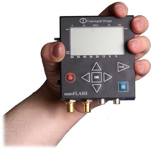 Convergent Design nanoFlash HD/SD Recorder/Player with 2 CF Card Slots