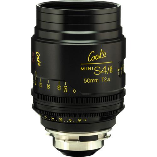 Cooke 50mm T2.8 miniS4/i Cine Lens (Feet)