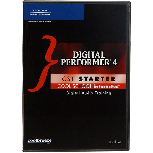 Cool Breeze CD-Rom: Digital Performer 4: CSI