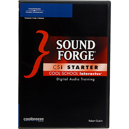 Cool Breeze CD-Rom: Sound Forge CSi Starter