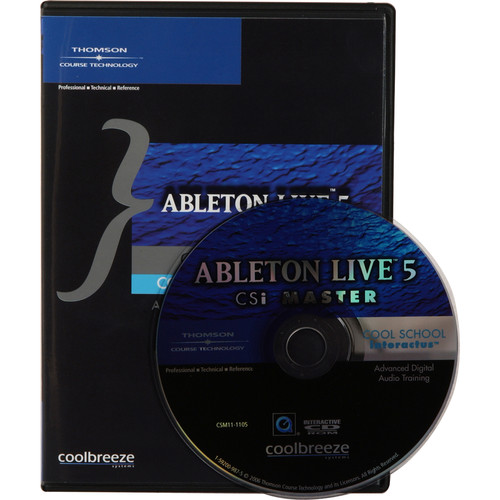 Cool Breeze CD: Ableton Live 5 CSi Master by Brian Jackson