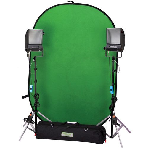 Cool-Lux Chroma Key Blue/Green Screen Kit