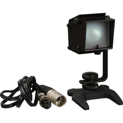 Cool-Lux LK-2511 Digi-Lux On-Camera Light - 35 Watt, Dimmer, 4-pin XLR Connector, Shoe Mount