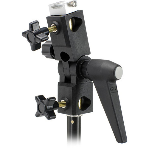 """Cool-Lux MD-5300 Adjustable Light and Umbrella Mount for Standard 5/8"""" Light Stand Stud"""