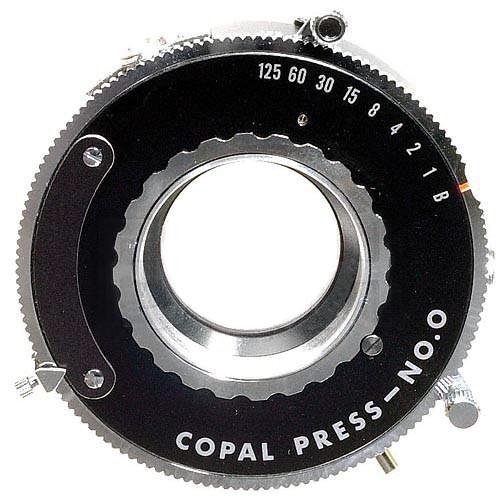 Copal #0 Press Shutter - Self-Cocking