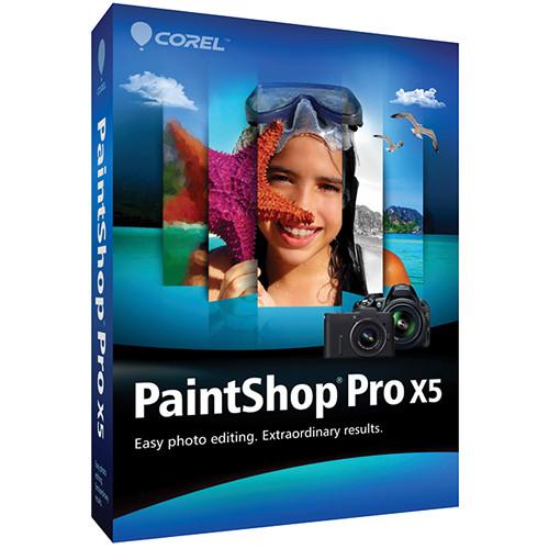 Corel PaintShop Pro X5 Photo Editing Software
