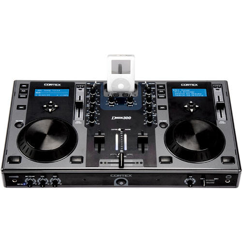 Cortex DMIX 300 Digital Mixing DJ Console for iPod and USB Storage Devices