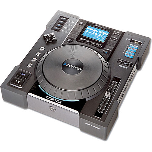 Cortex HDTT-5000 Digital Storage Device Turntable Controller for DJs