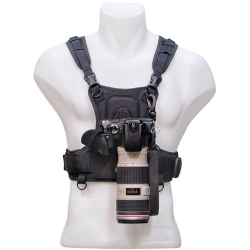 Cotton Carrier Camera Vest ONLY (Black)