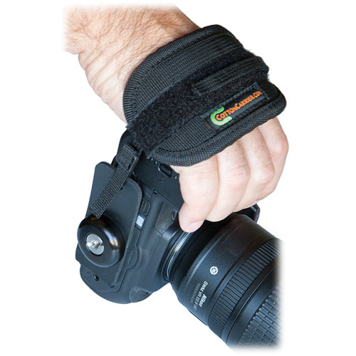 Cotton Carrier Universal Camera Hand Strap with Round Hard Anodized Hub/Screw