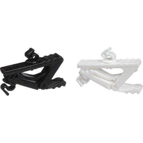 Countryman Microphone Clips (Black & White)