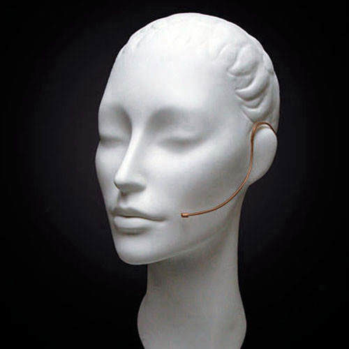Countryman E6 Directional Earset Mic, Medium Gain, with Detachable 2mm Cable and 3.5mm Locking Connector for Nady Wireless Transmitters (Cocoa)