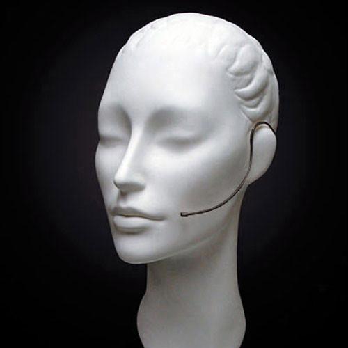 "Countryman E6i Omnidirectional Earset Headworn Microphone (1/8"" (3.5mm) Locking Connector, Black)"