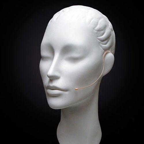 Countryman E6i Omnidirectional Earset Headworn Microphone (Microdot Connector, Beige)
