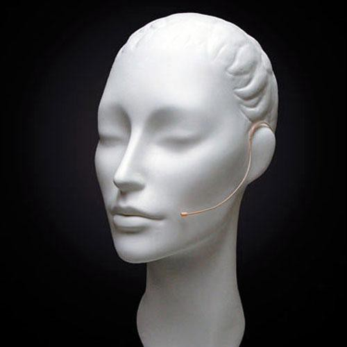 Countryman E6 Omni Earset Mic, Highest Overload, with Detachable 1mm Cable and LEMO 1-Pin Connector for Sennheiser Wireless Transmitters (Beige)