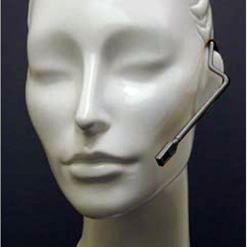 "Countryman Isomax Cardioid Headset Microphone for Sennheiser Wireless Transmitters (1/8"" (3.5mm) Locking-Mini Connector, Black)"