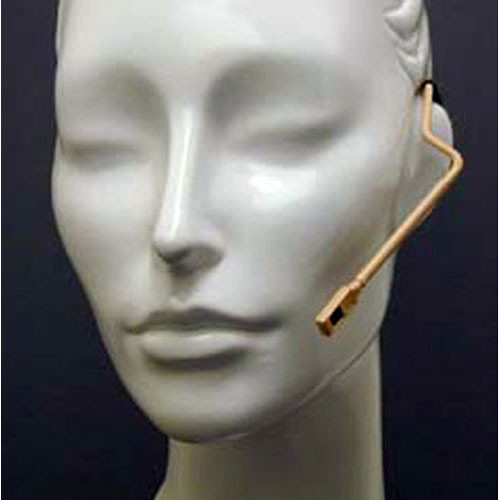 "Countryman Isomax Cardioid Headset Microphone for Sennheiser Wireless Transmitters (1/8"" (3.5mm) Locking-Mini Connector, Beige)"