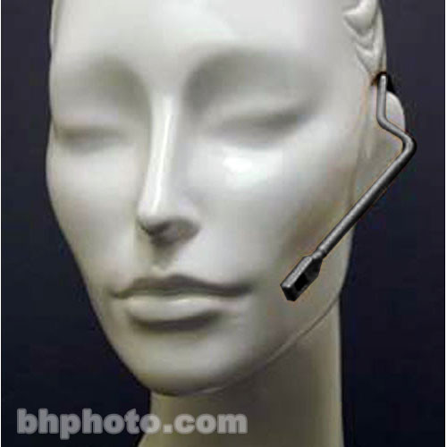 Countryman Isomax Hypercardioid Headset Microphone for Sennheiser Wireless Transmitters (1-Pin LEMO Connector, Black)